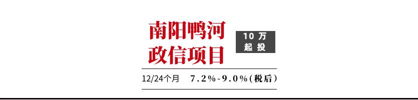2020南阳鸭河工投债权融资计划