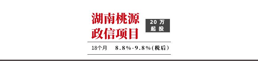 桃源城投东城债权一号【售罄】