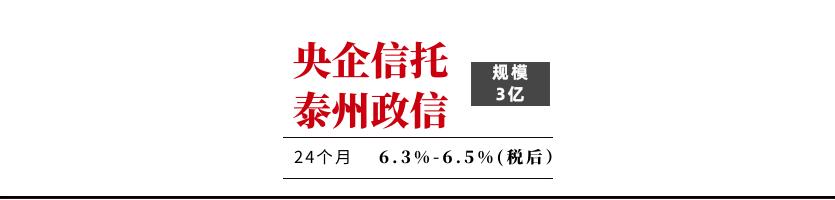 央企信托-XX89号(泰州新滨江项目)【售罄】
