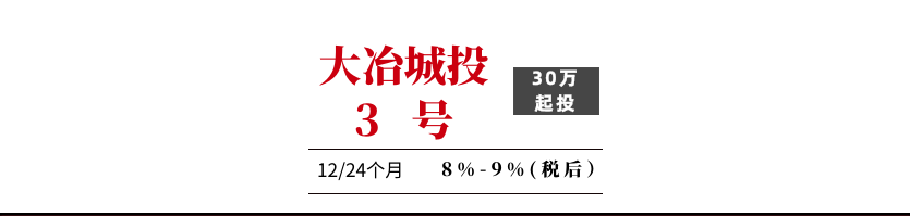 2020年大冶城投应收账款政信3号