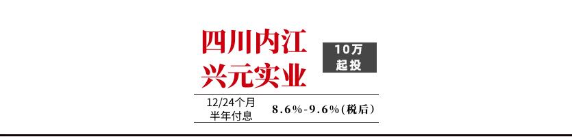 内江兴元实业2020债权资产