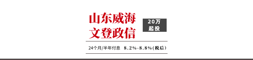 威海文登2020债权转让计划1号【售罄】