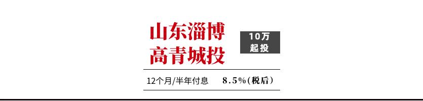 山东淄博高青城投债权1号