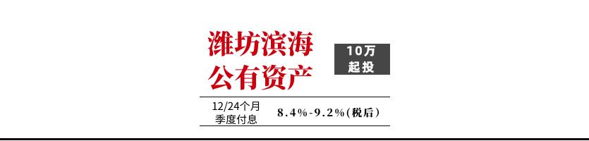 潍坊滨海新城公有资产经营管理有限公司2021定融计划